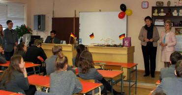 Biologijos-vokieciu pamoka