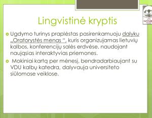 Lingvistine